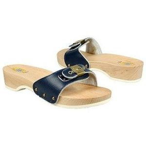DR.SCHOLL'S Navy Blue Original Slide Sandal sz 8